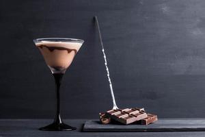 martini de chocolate foto