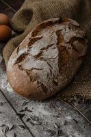 pão rústico trigo-centeio