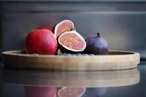 frutas frescas de outono