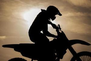 liberdade de motocross foto