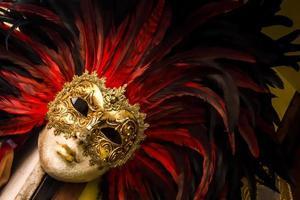 venezia mask draw foto