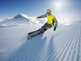 esquiador foto