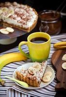 Torta de Banana e Café