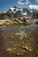 ponto do artista e mt. shuksan.