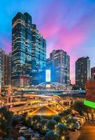 Banguecoque Tailândia nas instalações comerciais