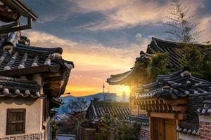 vila de bukchon hanok foto