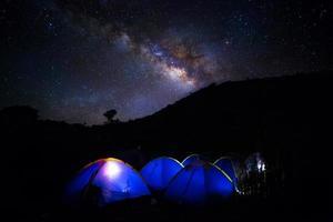 via Láctea foto