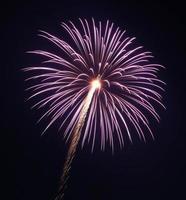 fogo de artifício