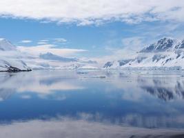 canal neumayer da antártica