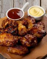 churrasco de frango foto