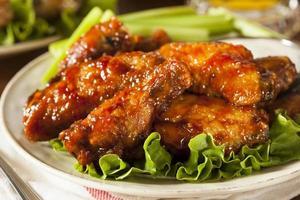 asas de frango churrasco