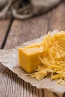 queijo cheddar ralado