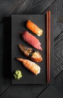 sushi japonês tradicional