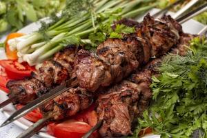 kebab de cordeiro foto