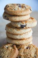 pilha de biscoitos