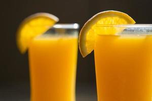 suco de laranja foto