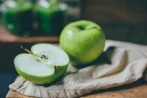 smoothie de suco verde