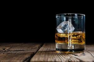 whisky de malte simples foto