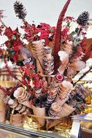cones de gelato foto