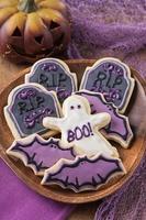 biscoitos do dia das bruxas