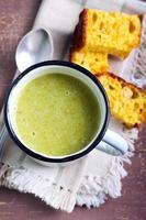 sopa de Brócolis foto