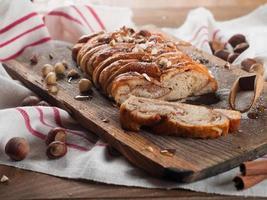 pão retorcido foto