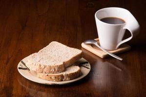 pão de café foto