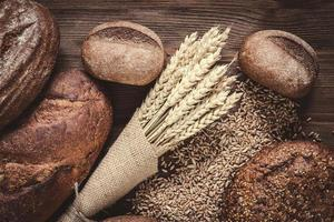 pães e centeio