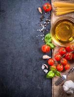 ingredientes de cozinha foto