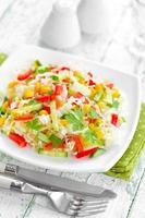 salada de repolho foto