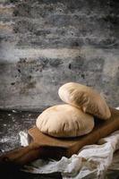 pão pita foto