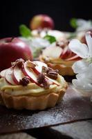 tortinhas de maçã foto