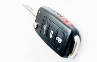 chave de ignição do carro remoto foto