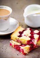 torta de cereja foto