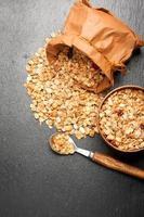 muesli de granola foto