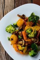 vegetais grelhados foto