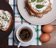 café da manhã fresquinho foto