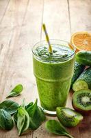 smoothie verde saudável