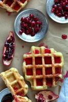 foto aérea de waffle