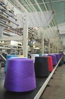 industria têxtil foto