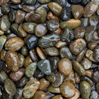 pedras molhadas