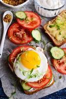 sanduíche com legumes
