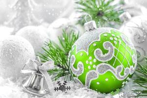 enfeites de Natal foto