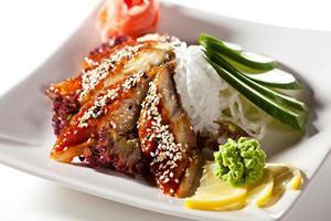 unagi sashimi foto