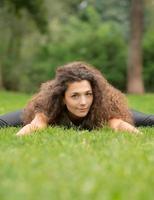 ioga no parque