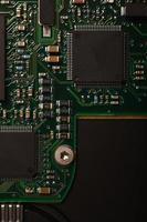 micro circuito eletrônico foto