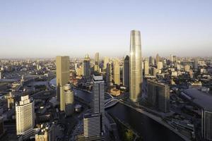 paisagem urbana e horizonte panorâmico foto