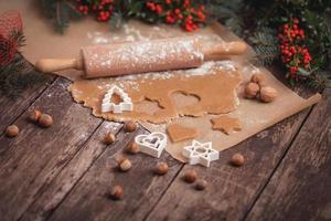 biscoitos de amendoim para a noite de inverno foto