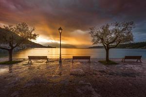 lago de garda - itália foto