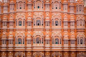 Palácio hawa mahal em jaipur